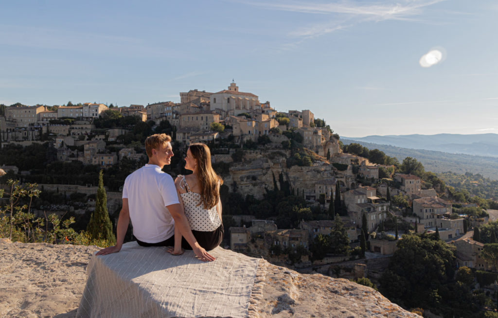 Gordes viewpoint Provence